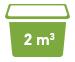 2 cubic meters Minibin Skip Bins Adelaide