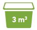 3 cubic meters Minibin Skip Bins Adelaide