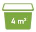 4 cubic meters Minibin Skip Bins Adelaide