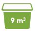 9 cubic meters Minibin Skip Bins Adelaide